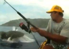 カヤックで釣りをしていたら
